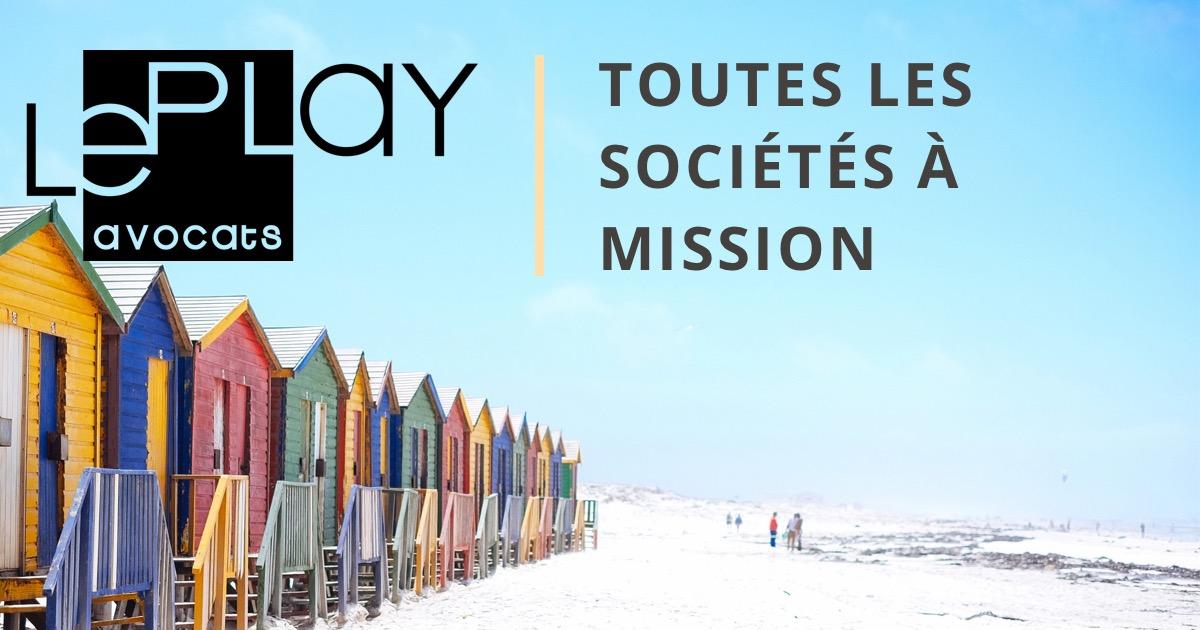 Image illustrant toutes les missions des sociétes à mision existantes ou entreprise à mission